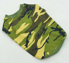 Army fatigue shirts, pet sweater,  camo style tee-shirts for small & large dogs,