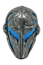 NEW Blue Silver Full Face Wire Mesh Protection CS Airsoft Paintball Templar Mask