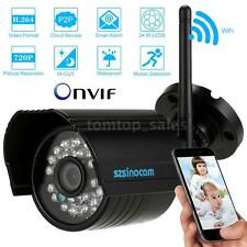 H.264 720P Wifi IP Camera CCTV Security Waterproof Night Motion Detection I4O0