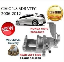 HONDA CIVIC 1.8 VTEC 2006-2012 REAR BRAKE CALIPER LEFT LHS NEW