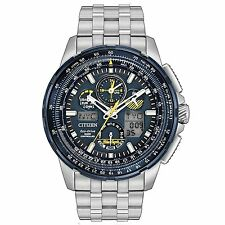 Citizen Skyhawk Blue Angels A-T Chronograph Perpetual Men's Watch JY8058-50L