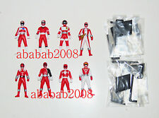 Bandai Super Sentai Ranger Red Chronicle Vol 4 Gashapon figure (full set of 8 )