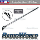"Sealey Extension Breaker Bar 450mm Long - 1/2"" Socket Square Drive - AK7301"