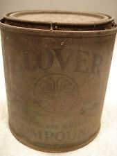 Vintage CLOVER TAPPING AND GRINDING COMPOUND  1Lb. tin