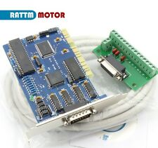 3 Axis Ncstudio PCI Motion Control Card Board with cable For CNC Router Milling