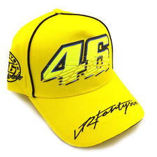 2016 Valentino Rossi The Doctor GP Motorcycle Baseball Hat Peaked Cap Hat Yellow
