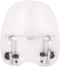 Clear Windshield for Harley Davidson Sportster Dyna Glide Softail with Hardware