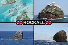 SOUVENIR FRIDGE MAGNET of ROCKALL SCOTLAND
