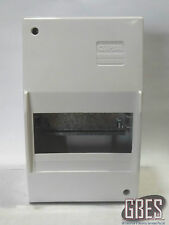Clipsal 4CC6 Surface Mount Switchboard Enclosure 6 Module Plastic White IP20