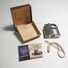 RONSON STANDARD CIGARETTE LIGHTER WICK & ORIGINAL BOX Pat # 19023 - Lot 1
