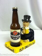 Frankenmuth beer sign top hat mellow dry chalkware bottle display chalk statue
