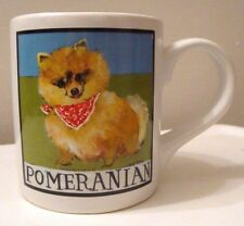 Pomeranian Dog Mug Cup Nancy Thomas Art Read Street 11 oz Capacity