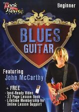 John McCarthy Blues Guitar Beginner Learn to Play Jazz Guitar Music DVD