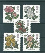 COMMEMS - 1991 - WORLD CONGRESS OF ROSES, BELFAST   -  UNMOUNTED  MINT SET