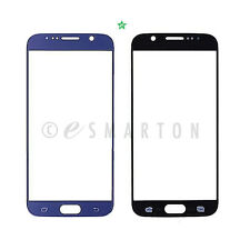 Outer Lens Touch Screen Front Glass Blue for Samsung Galaxy S6 G920V G920A G920T