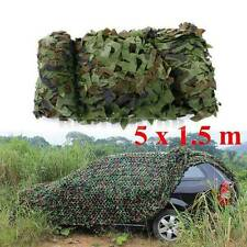 16FT x 5FT Woodland Shooting Hide Army Camouflage Net Hunting Camp Camo US NEW