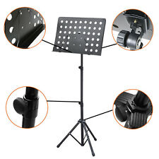 NEW Heavy Duty Adjustable Orchestral Conductor Sheet Music Stand Holder Tripod