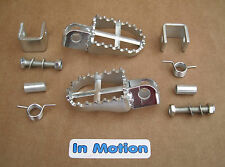 Universal Footrest Kit with Weld on Brackets Trials Twinshock Pre 65 BSA Cub Dot