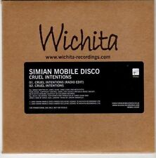 (EM51) Simian Mobile Disco, Cruel Intentions - 2009 DJ CD