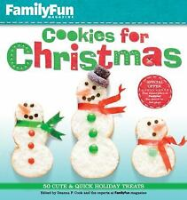 FamilyFun Cookies for Christmas: 50 Cute & Quick Holiday Treats by , Good Book