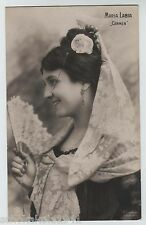 Ak actriz Maria labia -- carmen -- para 1905