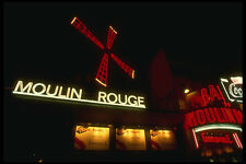 287013 le moulin rouge night club Paris France A4 papier photo