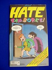 Hate Jamboree! 1: Peter Bagge retrospective magazine & comic.  64-page.