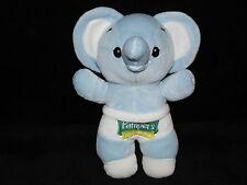 Pampers éléphant jouet doux bleu couette nouveau bébé doudou