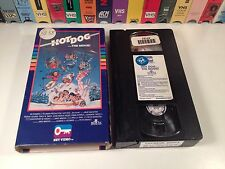 * Hot Dog...The Movie! Rare 80's Comedy VHS 1984 Shannon Tweed Key Video Ski