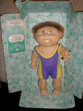 1991 Cabbage Patch Kids Splash 'N Tan Boy Doll HASBRO 1991  Bill Torey w/ Teeth