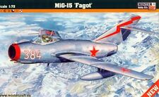 MiG 15 (GERMAN, POLISH, BULGARIAN, ROMANIAN, HUNGARIAN... MKGS) 1/72 MISTERCRAFT
