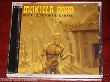 Manilla Road: Playground Of The Damned CD 2011 Shadow Kingdom USA SKR047CD NEW