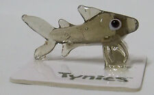 JIN THE SHARK TYNIES Tiny Glass Figure fish sea life Figurines Collectibles 0071