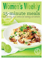 Women's Weekly ~15 Minute Meals ~COOKBOOK REPRINTED-POPULAR DEMAND