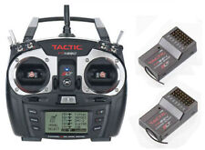 TACTIC TTX650 2.4GHz 6CH AIRPLANE HELI TRANSMITTER TX 2.4GHz TACJ2650 FREE RX'S