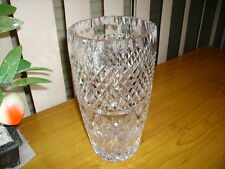 Reduced -Rare 1978 Whitefriars Handcut English Full Lead Crystal Vase Over 2 kgs