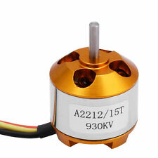 BLDC A2212/15T 930KV Brushless Motor for Airplane,Quadcopter Soldered Connector