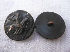 2 boutons anciens