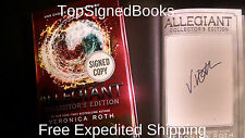 SIGNED! ALLEGIANT Veronica Roth Collector's Edition, DIVERGENT, Autographed,NEW!