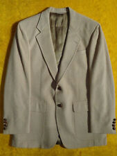 VINTAGE ~CAMEL HAIR ~MENS JACKET SPORT COAT BLAZER ~Size 38 39 40 S R ~ Chest 42