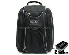 Sullen Tattoo Blaq Paq Drone Art Travel Backpack Artist Bag Black with 2 Cases