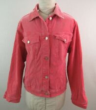 Avenue Blues Stretch Pink Corduroy Blazer Size 14/16
