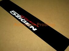 "53"" 5 Zigen 5zigen Windshield Sunstrip decal sticker banner rsx civic s2000 fd2"