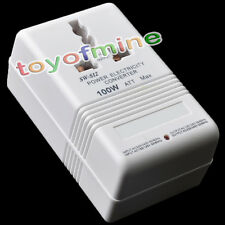 Latest 110V/120V to 220V/240V Step-Up & Down Voltage Converter 100W Transformer