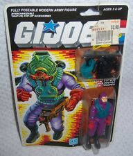 Vintage 1987 GI Joe TOXO-VIPER Action Figure Hasbro MOC Factory Sealed!