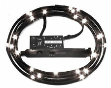 NZXT Sleeved LED Kit - White  (2m/78.74inch) Computer Lights