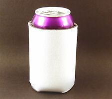 25 Blank Premium Beverage Insulators/Can Coolers-White-Sublimation