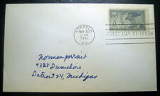 """1950 Final Reunion """"United Confederate Veterans"""" First Day Issue Envelope!"""