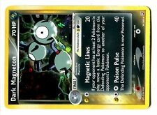 POKEMON ROCKET RETURNS HOLO REV N°  39/109 DARK MAGNETON