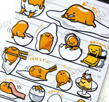 Made in Japan Sanrio Gudetama lazy Egg Man 4-size sticker Sticker 1 sheet